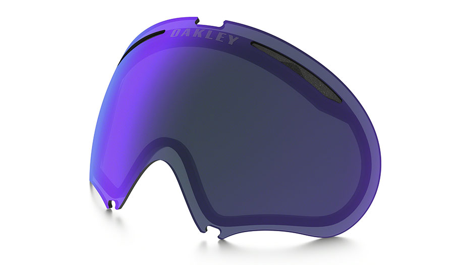Oakley A Frame 2.0 Ski Goggles Replacement Lens Kit - Violet Iridium