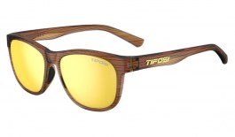 Tifosi Swank Sunglasses - Woodgrain / Smoke Yellow