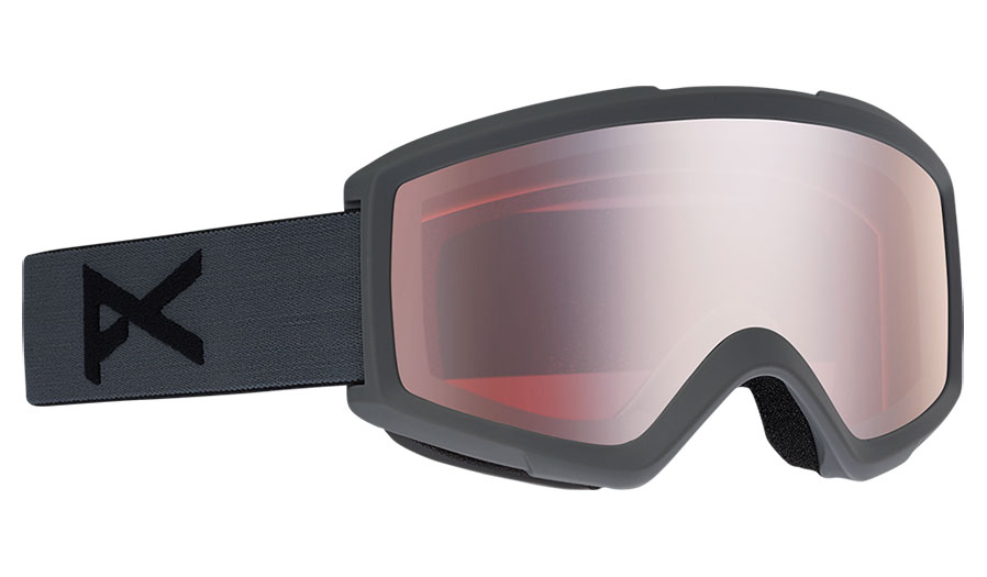 Anon Helix 2.0 Ski Goggles - Stealth / Silver Amber + Amber