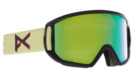 Anon Relapse MFI Ski Goggles - Crazy Eyes Green / Perceive Variable Green + Amber