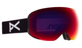 Anon M2 Ski Goggles - Black / Perceive Sunny Red + Perceive Cloudy Burst