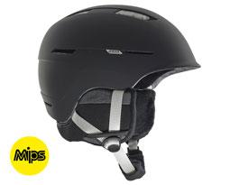 Anon Auburn MIPS Ski Helmet - Marble Black