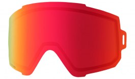 Anon Sync Ski Goggle Replacement Lens - Sonar Red