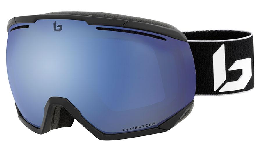 Bolle Northstar Ski Goggles - Matte Black Corp / Phantom+ Polarised Photochromic