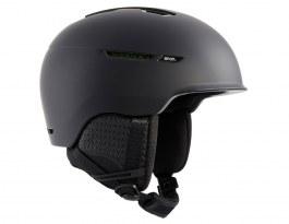Anon Logan WaveCel Ski Helmet - Black