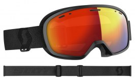 Scott Muse Pro Ski Goggles - Black / Light Sensitive Red Chrome Photochromic