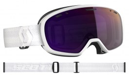 Scott Muse Pro Ski Goggles - White / Enhancer Purple Chrome