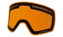 Dragon NFXS Ski Goggles Lens - Lumalens Amber