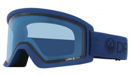 Dragon DX3 OTG Ski Goggles - Light Navy / Lumalens Blue + Lumalens Dark Smoke