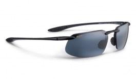 Maui Jim Kanaha Sunglasses - Gloss Black / Neutral Grey Polarised