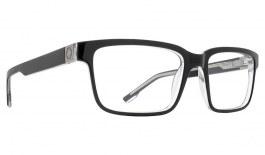 SPY Rafe Glasses - Black & Clear - Essilor Lenses