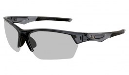 Dirty Dog Sport Track Sunglasses - Crystal Black / Grey Photochromic