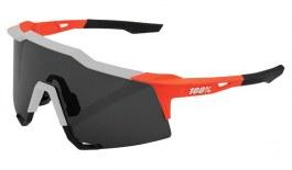 100% Speedcraft Sunglasses - Soft Tact Oxyfire / Smoke + Clear