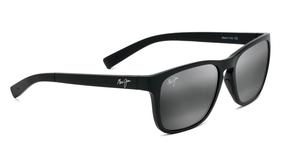 aa8add7e188b Maui Jim Longitude Sunglasses - Matte Black / Neutral Grey Polarised ...