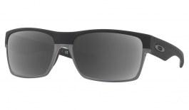 Oakley TwoFace Prescription Sunglasses - Matte Black (Grey Wire & Gunmetal Icon)