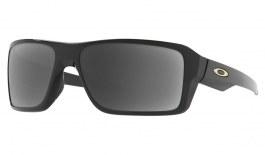 Oakley Double Edge Prescription Sunglasses - Polished Black
