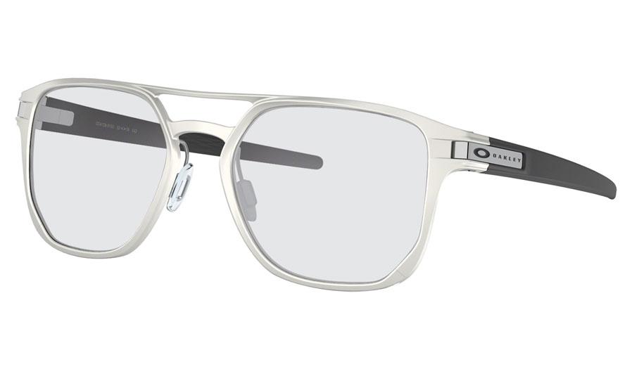 b8a94ddbca20 Oakley Latch Alpha Prescription Sunglasses - Matte Silver (Satin ...