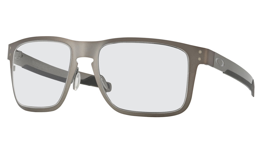 c854c69dcec Oakley Holbrook Metal Prescription Sunglasses. Colour  Matte Gunmetal  (Chrome Icon)