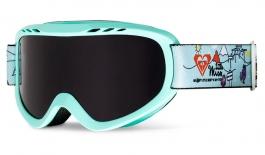 Roxy Sweet Ski Goggles - Aruba Blue Little Miss Alpine / Vermillon