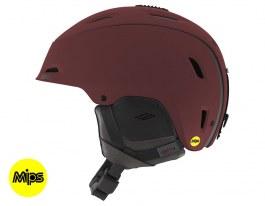 Giro Range MIPS Ski Helmet - Matte Maroon Mountain Division