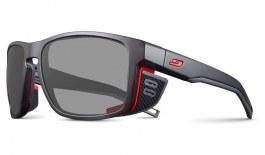 Julbo Shield M Prescription Sunglasses - Matte Black & Red
