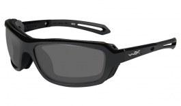 Wiley X Wave Prescription Sunglasses - Gloss Black
