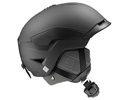 Salomon Quest Custom Air Ski Helmet - Black
