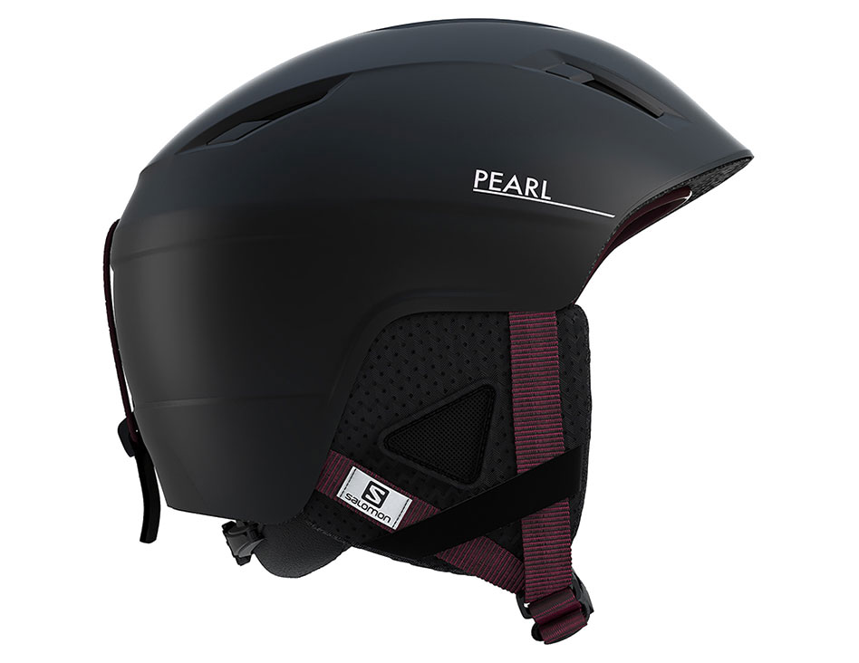 Salomon Pearl 2+ Ski Helmet - Black