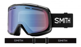 Smith Optics Range Prescription Ski Goggles - Black / Blue Sensor Mirror
