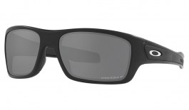 Oakley Turbine XS Sunglasses - Matte Black / Prizm Black Polarised