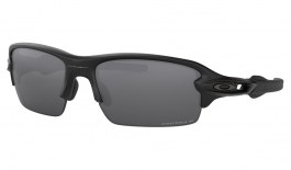 Oakley Flak XS Sunglasses - Matte Black / Prizm Black Polarised