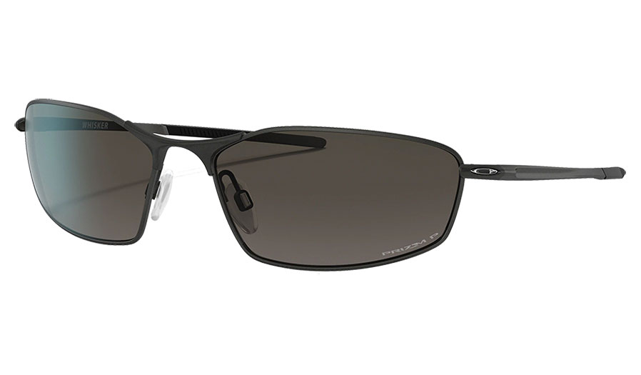 Oakley Whisker Sunglasses - Satin Light Steel / Prizm Grey Gradient