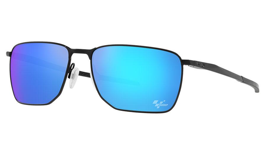 Oakley Ejector Sunglasses - MotoGP Collection Satin Black / Prizm Sapphire