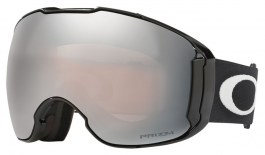 Oakley Airbrake XL Ski Goggles - Jet Black / Prizm Black Iridium + Prizm Rose