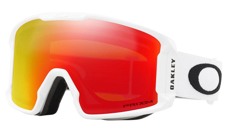 Oakley Line Miner XM Ski Goggles - Matte White / Prizm Torch Iridium