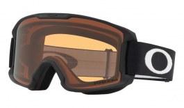 Oakley Line Miner Youth Ski Goggles - Matte Black / Prizm Persimmon