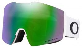 Oakley Fall Line XL Ski Goggles - Matte White / Prizm Jade Iridium