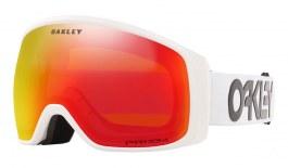 Oakley Flight Tracker XM Prescription Ski Goggles - Factory Pilot White / Prizm Torch Iridium