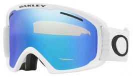 Oakley O Frame 2.0 Pro XL Prescription Ski Goggles - Matte White / Violet Iridium + Persimmon