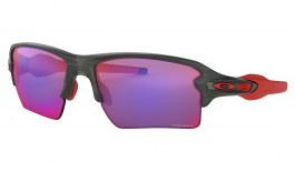 Oakley Flak 2.0 XL Sunglasses - Matte Grey Smoke / Prizm Road