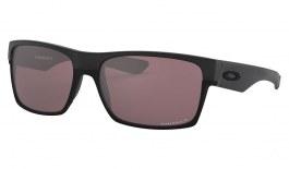 Oakley TwoFace Sunglasses - Matte Black / Prizm Daily Polarised