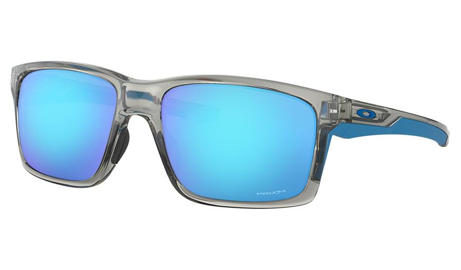 Oakley Mainlink XL Sunglasses - Grey Ink / Prizm Sapphire