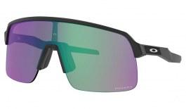 Oakley Sutro Lite Sunglasses - Matte Black / Prizm Road Jade