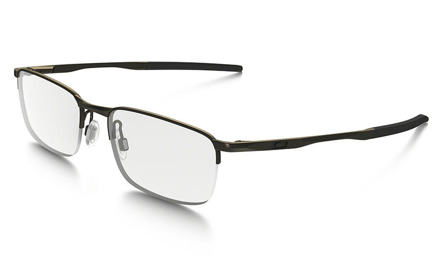 a643bf079 Oakley Barrelhouse 0.5 Prescription Glasses - Pewter - Essilor ...