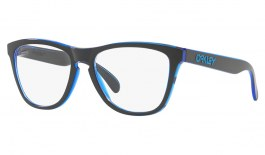 Oakley Frogskins Rx Prescription Glasses - Eclipse Collection - Eclipse Blue - Essilor Lenses