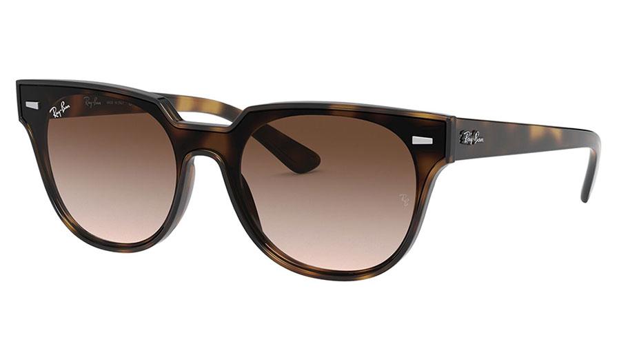 Ray-Ban RB4368N Blaze Meteor Sunglasses - Havana / Brown Gradient