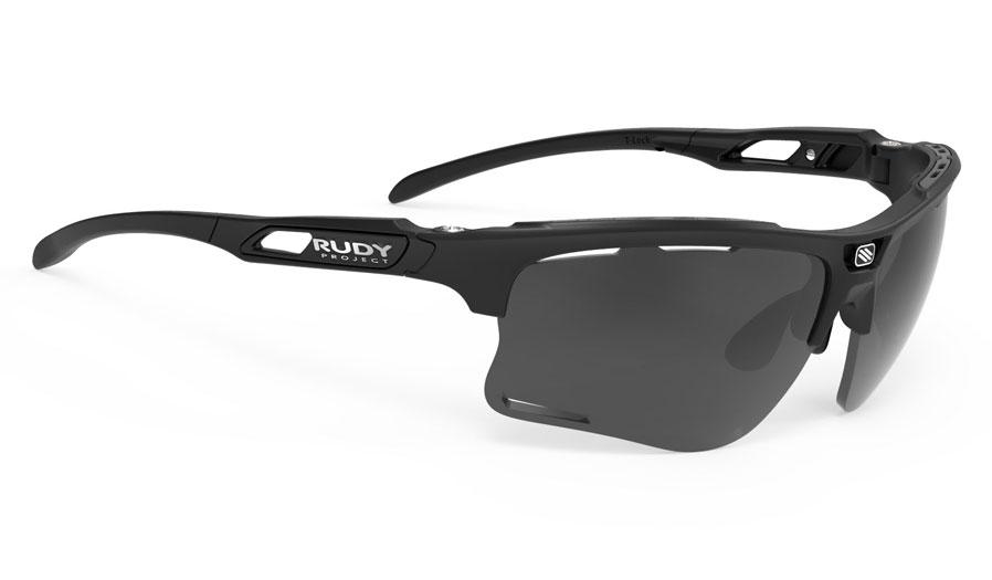 Rudy Project Keyblade Sunglasses - Matte Black / Smoke Black