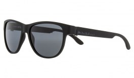 Red Bull Wing 3 Sunglasses - Matte Black / Smoke Polarised