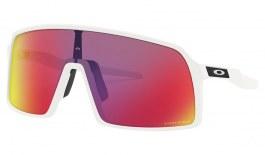 Oakley Sutro Sunglasses - Matte White / Prizm Road