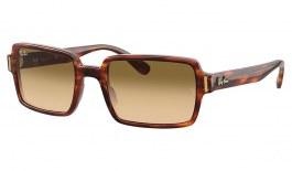 Ray-Ban RB2189 Benji Sunglasses - Striped Havana / Light Brown Gradient